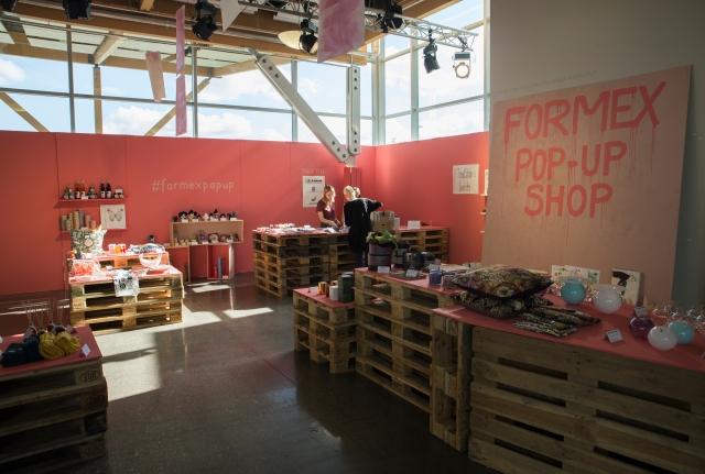 Formex pop-up-butik